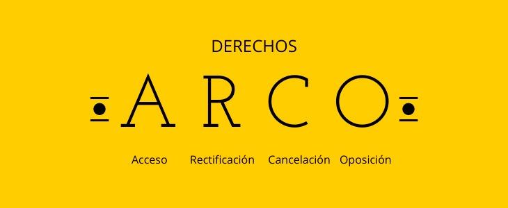 derechos ARCO